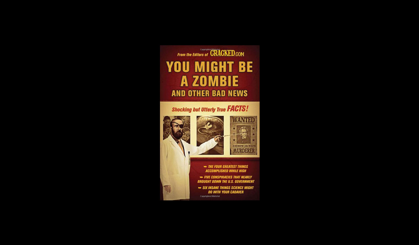 You Might Be A Zombie And Other Bad News | #mutedbooks