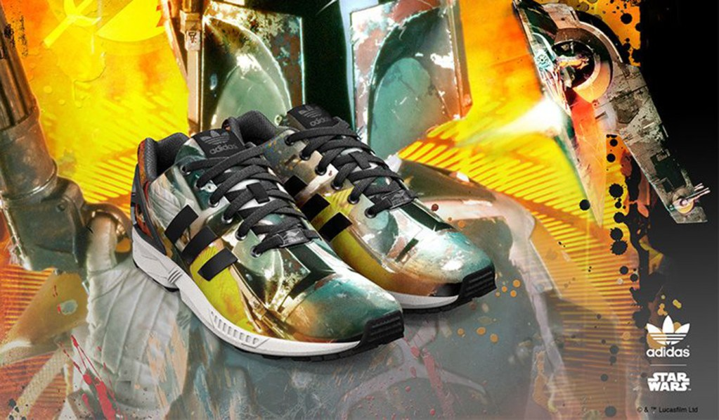new arrival b8404 7a56c ADIDAS ZX FLUX STAR WARS CUSTOMIZABLE SNEAKERS