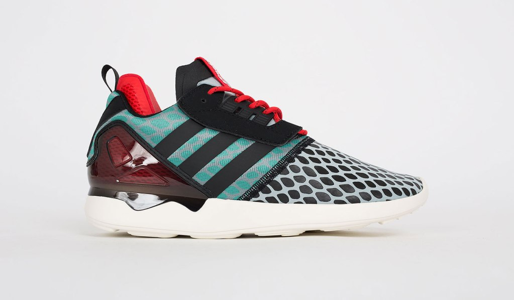 ADIDAS ZX 8000 BOOST GREY/GREEN/RED