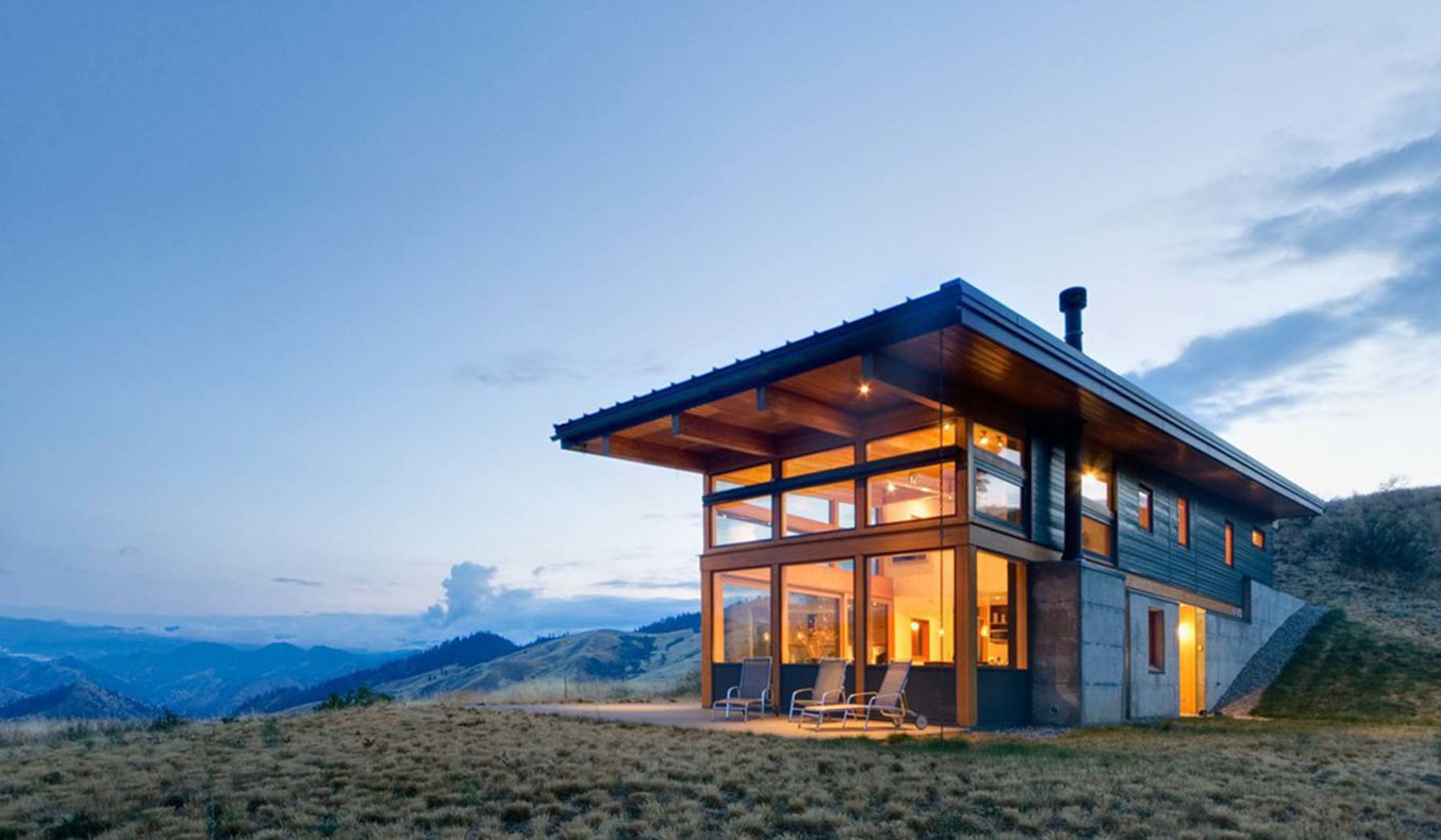 NAHAHUM CABIN BY BALANCE ASSOCIATES