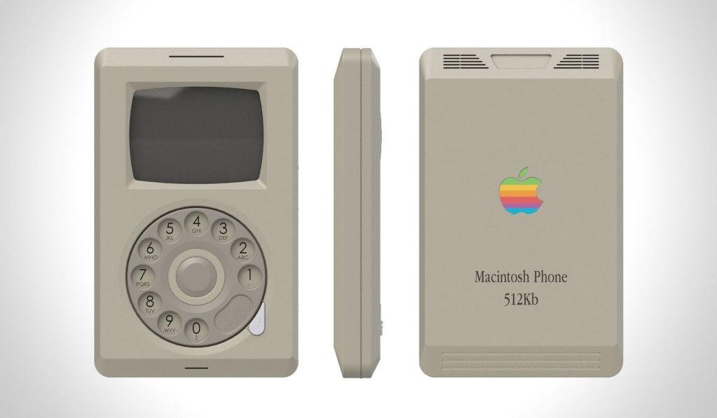 1980S APPLE MACINTOSH PHONE CONCEPT