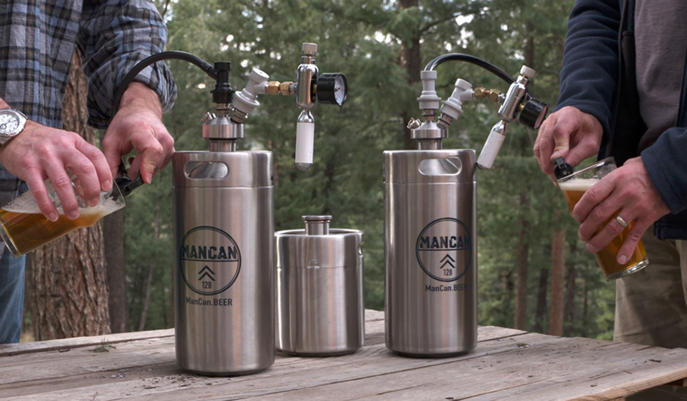 THE MANCAN PERSONAL KEG SYSTEM