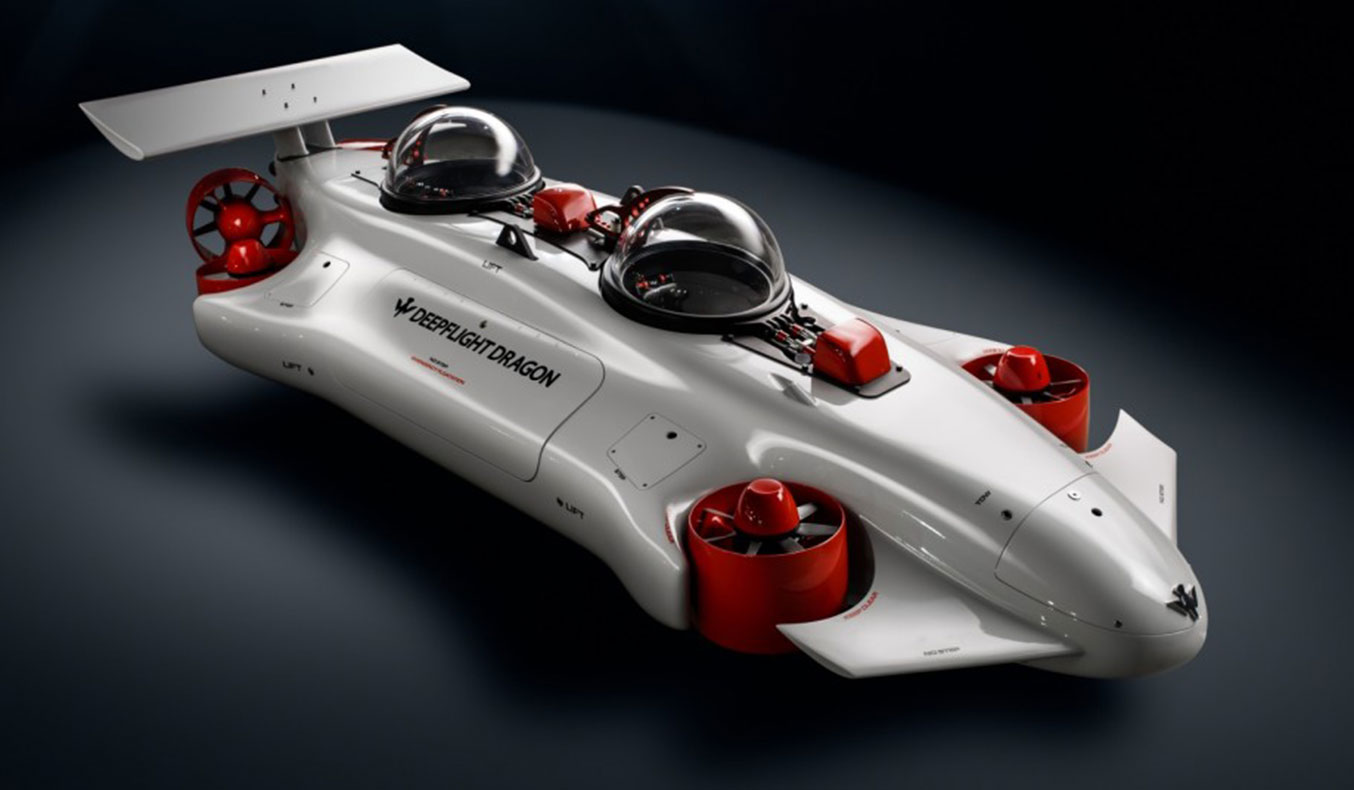DEEPFLIGHT DRAGON SUBMARINE