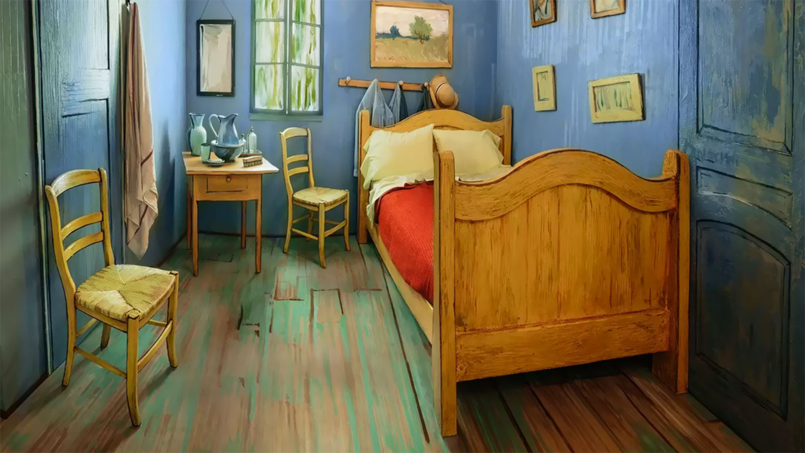 Van Gogh's Bedroom airbnb