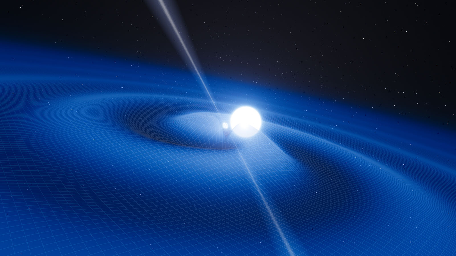 gravitational waves discovered 100 years after einstein's prediction