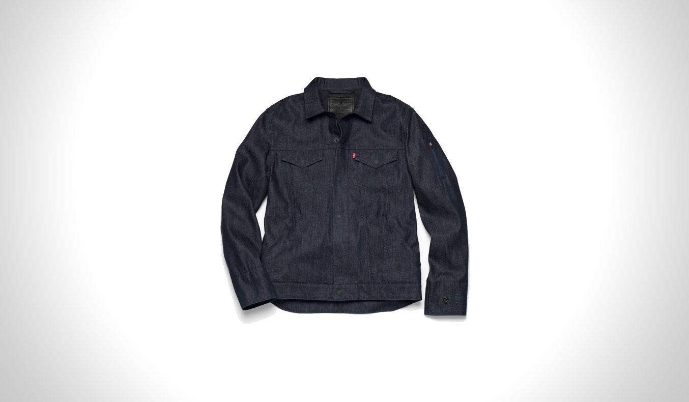 LEVI'S COMMUTER TRUCKER JACKET REVEALS THE DENIM OF THE FUTURE