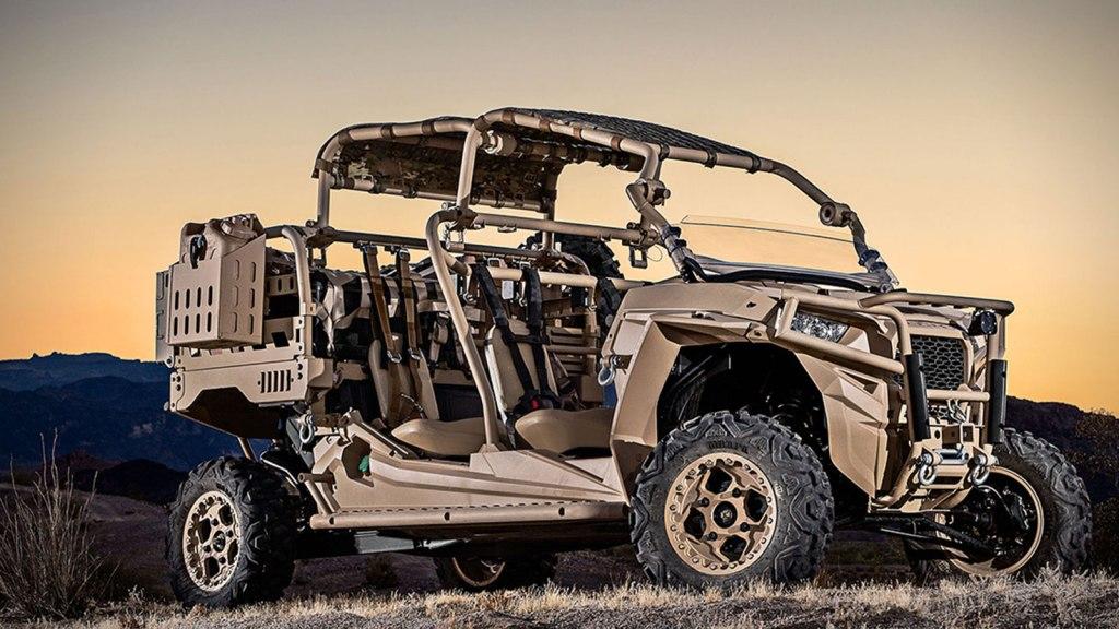 POLARIS DEFENSE TURBO DIESEL MRZR-D MILITARY ATV