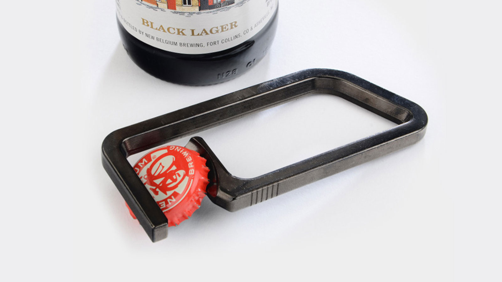 MACHINED MAGNETIC BOTTLE OPENER