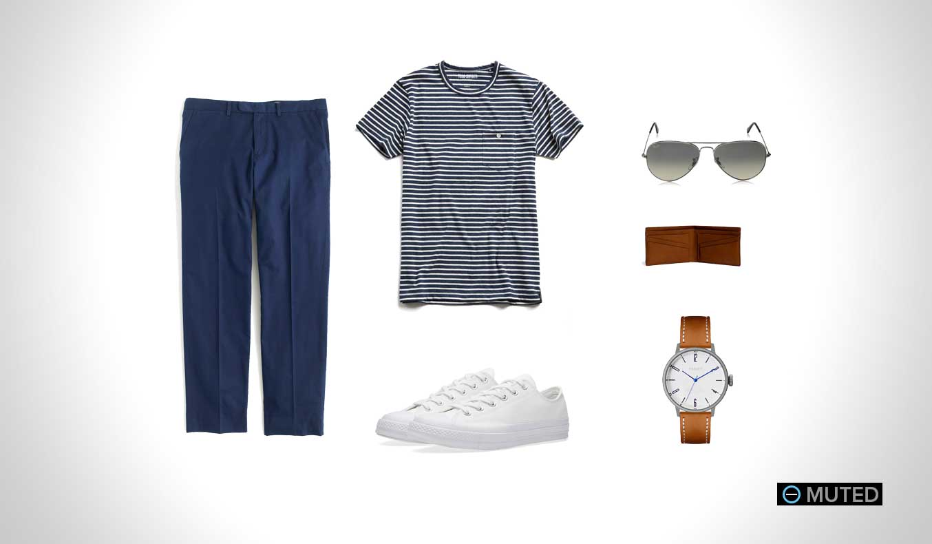 Muted Mens Outfit Ideas Summer #10