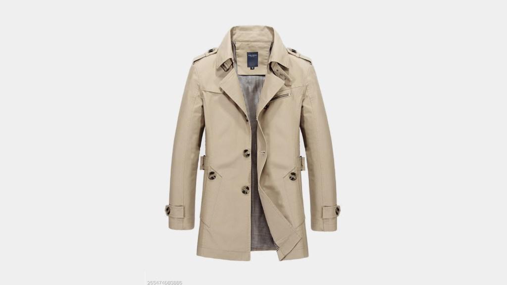 Berrylook Best Mens Trench Coat