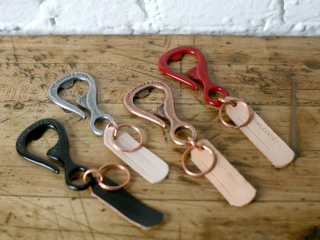 Corter Leather Bottlehook | best edc keychains | best edc keychains