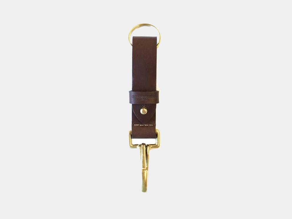 Leather Works Iron Range Key Fob