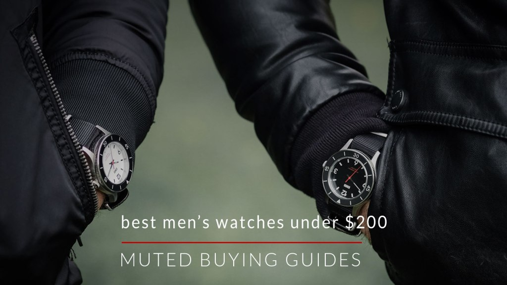 Best Men's Watches Under $200