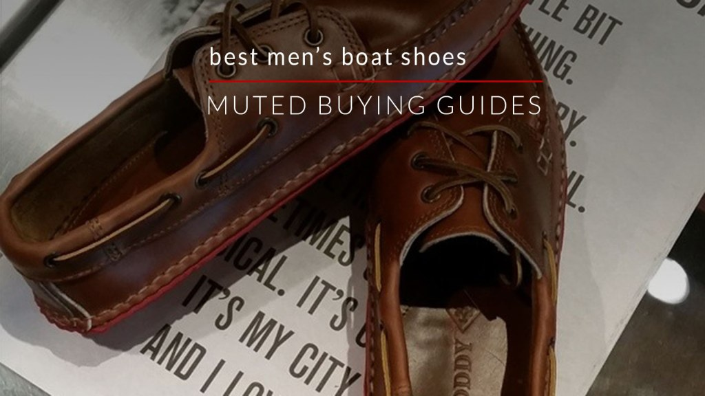 best men's boat shoes