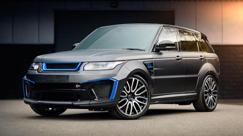 PROJECT KAHN LAND ROVER SPORT 5.0 V8 SUPERCHARGED SVR PACE CAR