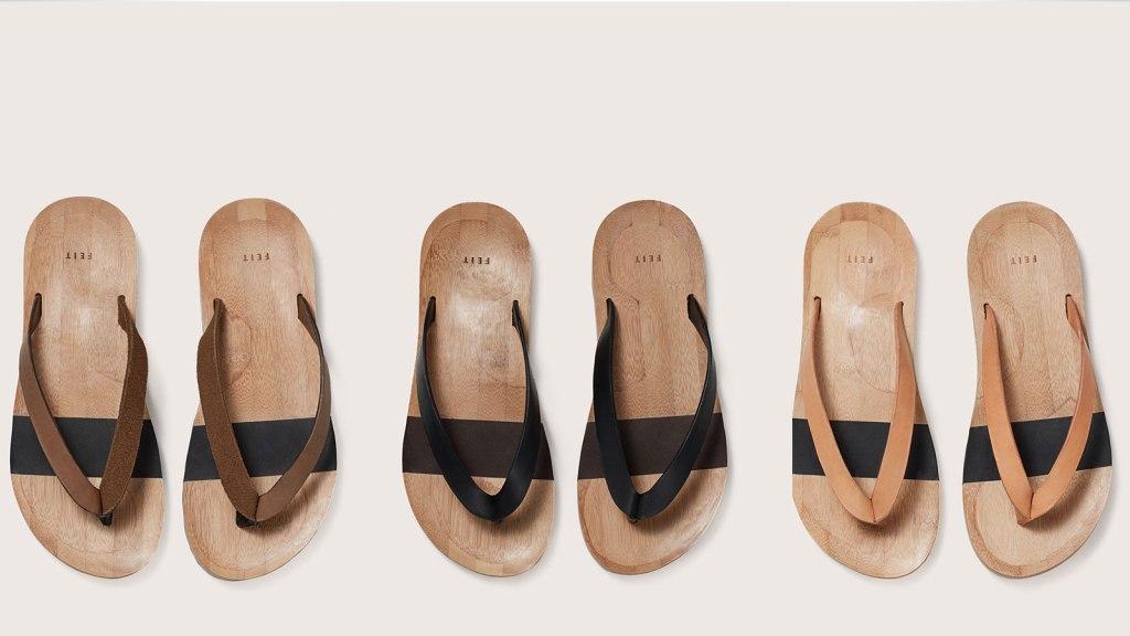 Feit Bamboo Flip Flops
