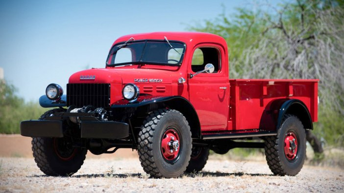 1947 DODGE POWER WAGON PICKUP UP FOR AUCTION