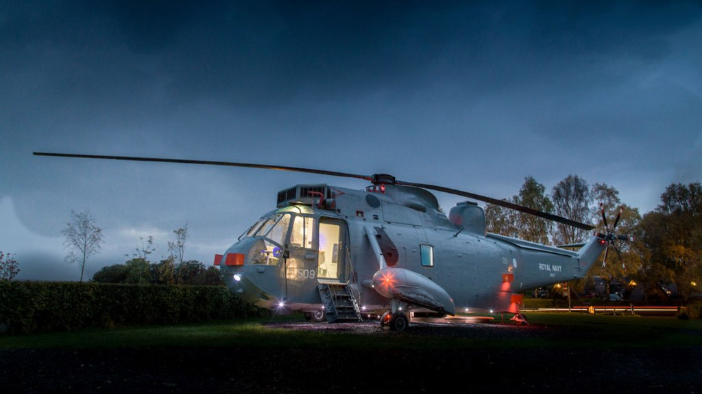 Helicopter Hotel Room