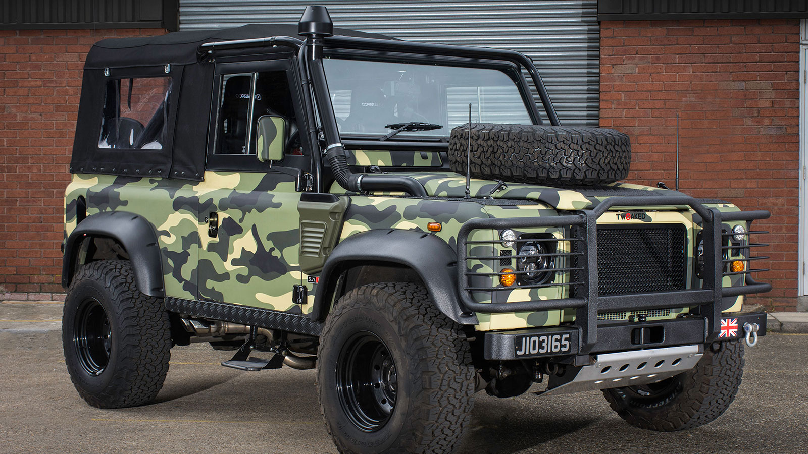 Military Edition Defender