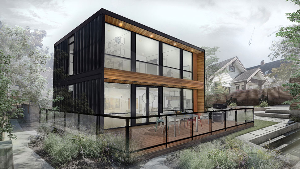Wondrous Honomobo Shipping Container Homes Muted Home Remodeling Inspirations Propsscottssportslandcom