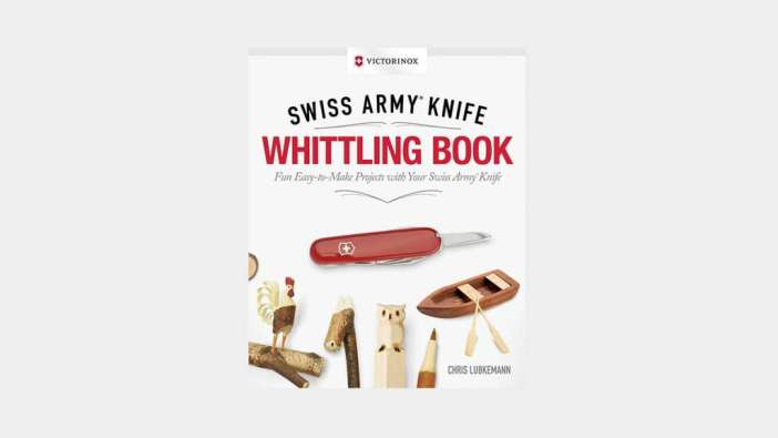 Swiss Army Knife Whittling Book Muted