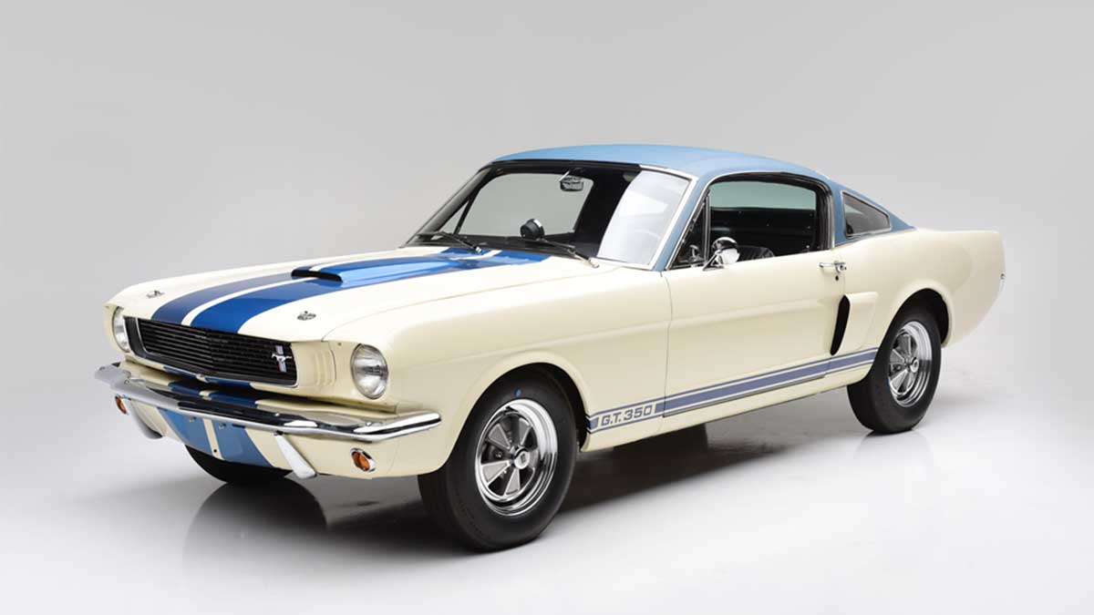 Auction: The First Shelby GT350