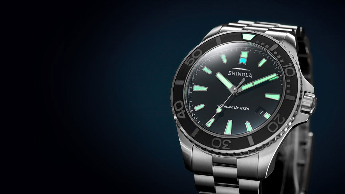Shinola Lake Erie Monster Dive Watch