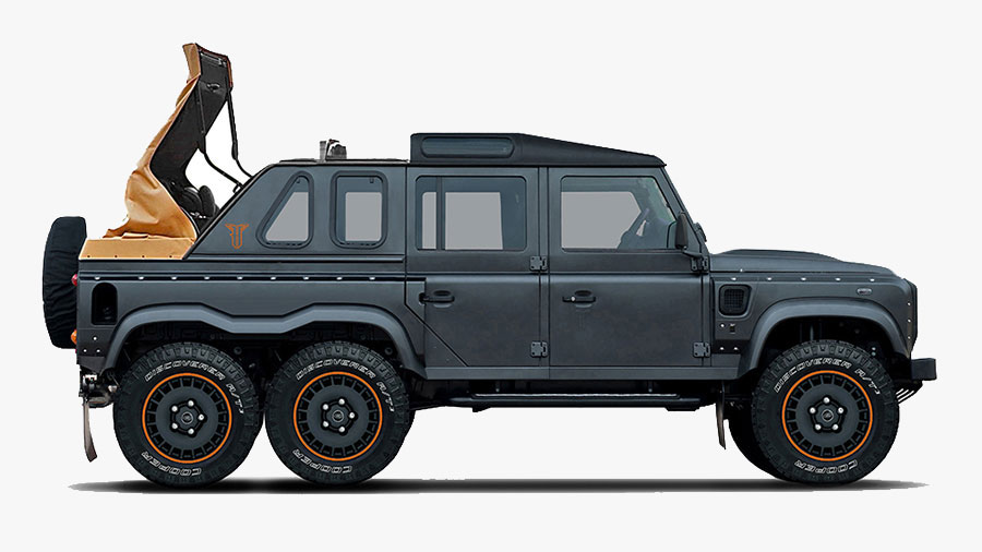 The Flying Huntsman 6x6 By Kahn Design