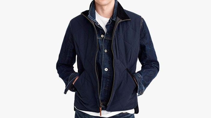 best mens winter vests by J. Crew