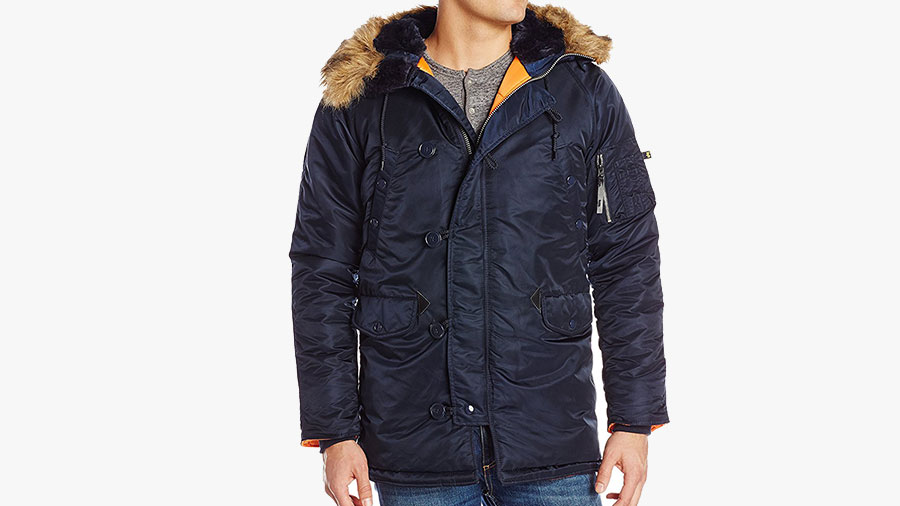 best mens winter parka by alpha industries