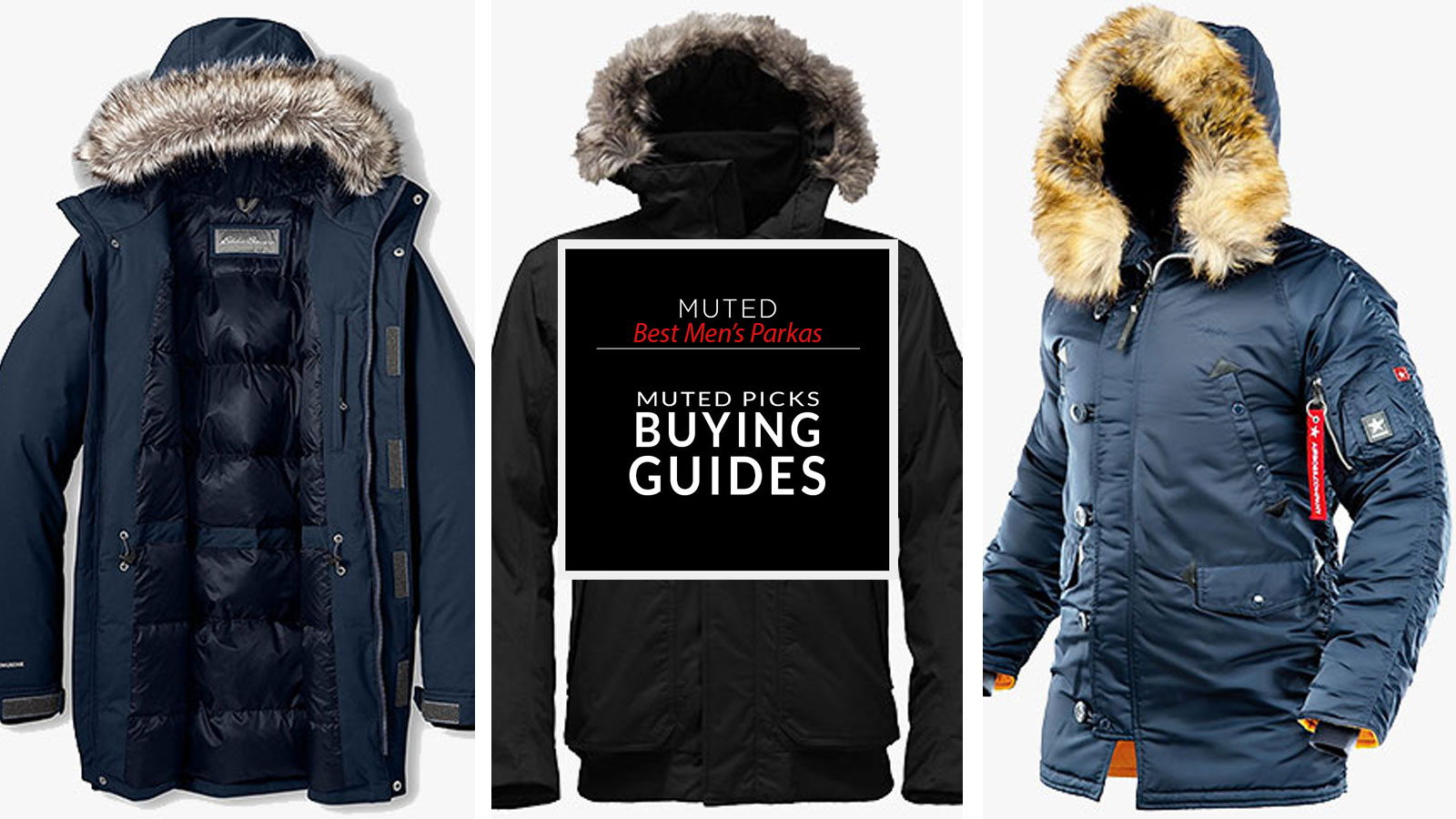 NestYu Mens Insulated Removable Fluffy Collar Breathable Down Parka