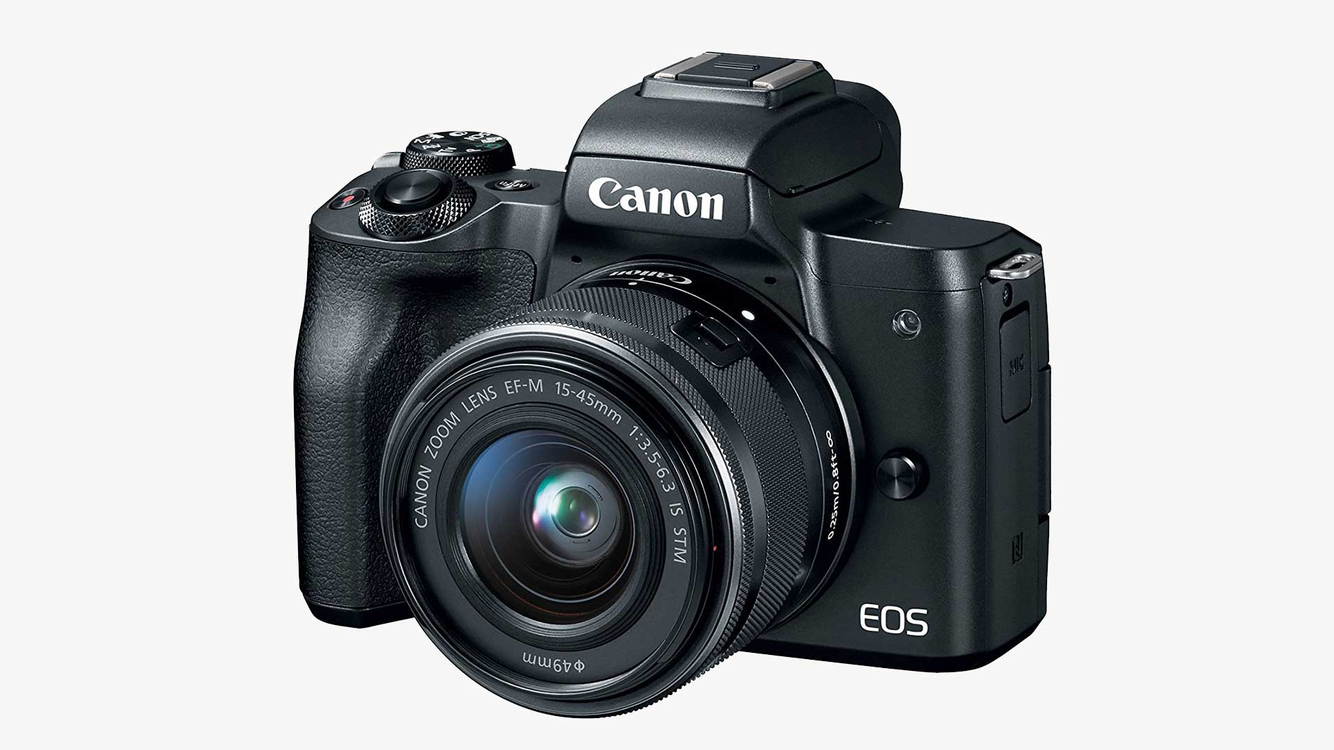 Canon EOS M50 Mirrorless Camera w/ 15-45mm Lens