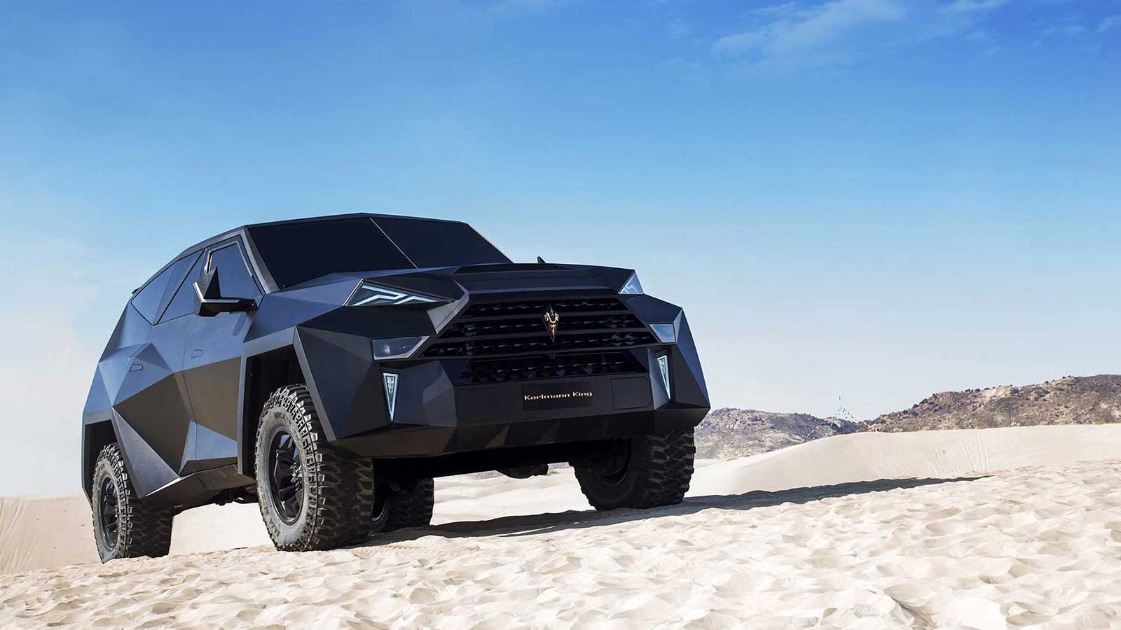Karlmann King Ground Stealth Fighter Armored Vehicle