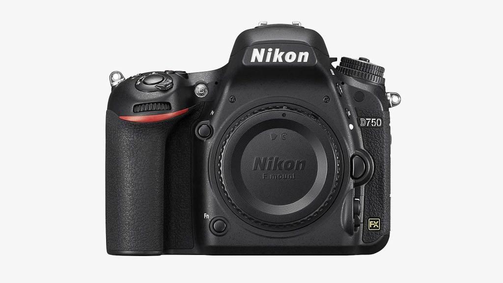 best full frame cameras - Nikon D750 FX-Format DSLR Camera