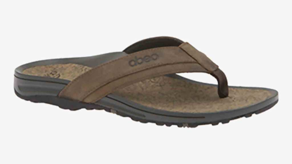 Abeo B.I.O. System Best Men's Flip Flops