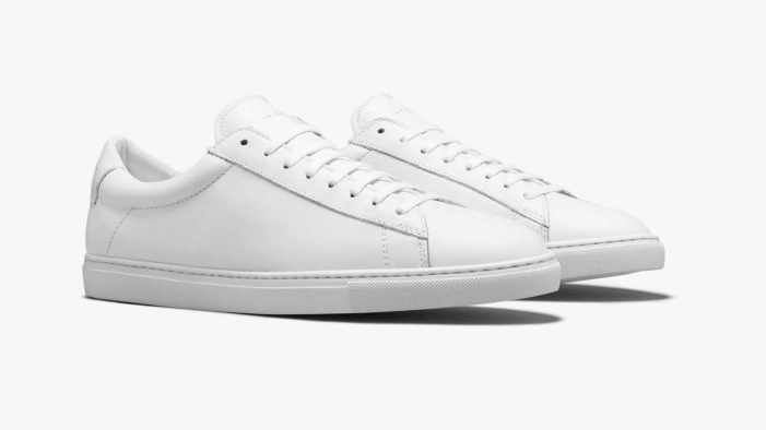 The Oliver Cabell Low 1 Men's White Sneaker
