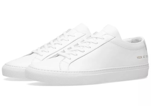 Common Projects Achilles Lows White Sneakers