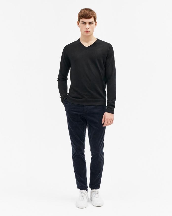 Filippa K Fine Merino Wool V-Neck Sweater-1
