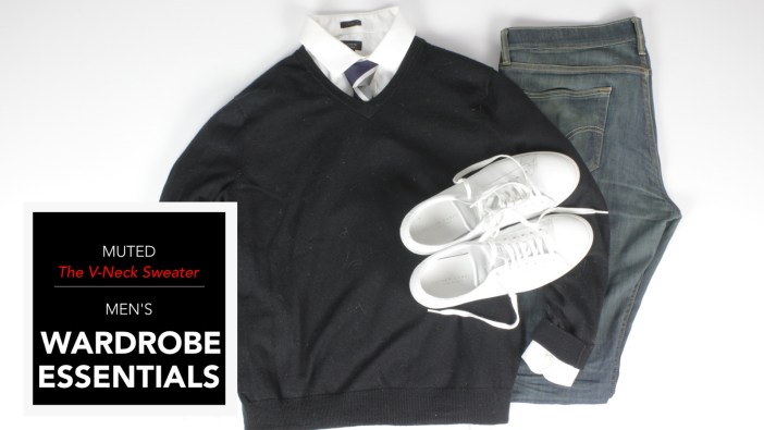 Men's Wardrobe Essentials – Everything You Need To Know About The V-Neck Sweater