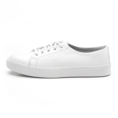 Rancourt Court Classic Low White Sneakers
