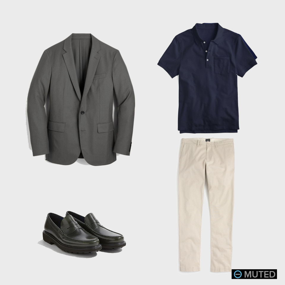 best men's chinos outfit ideas #2