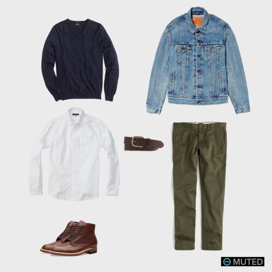 best mens denim jackets - best mens outfits #1