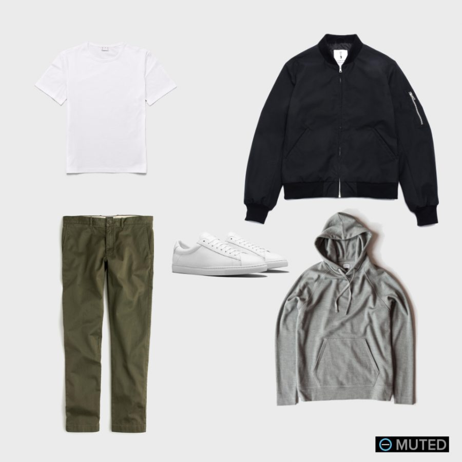 best bomber jacket outfits #3