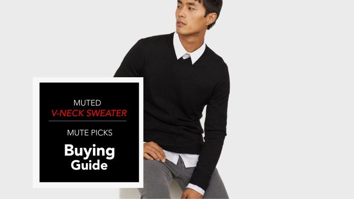 5 of the Best Men's V-Neck Sweaters