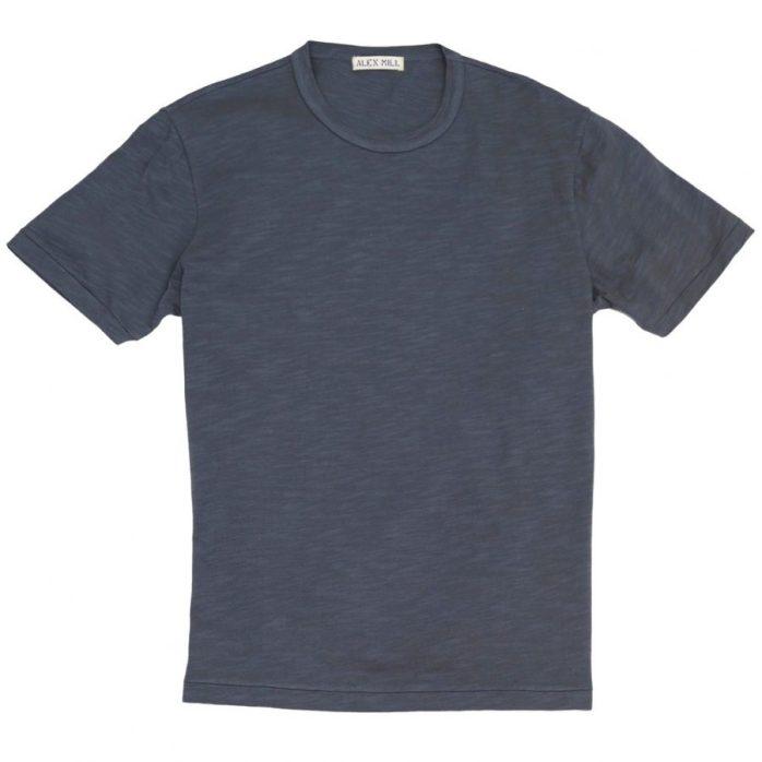 Alex-Mill Standard Slub Cotton T-Shirt-1