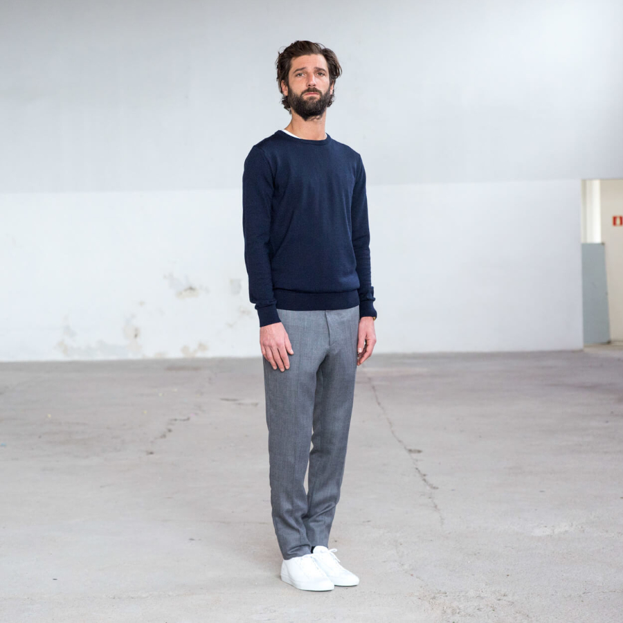 mens wool pants outfit ideas