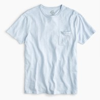 J. Crew Garment-Dyed Slub Cotton Crewneck T-Shirt