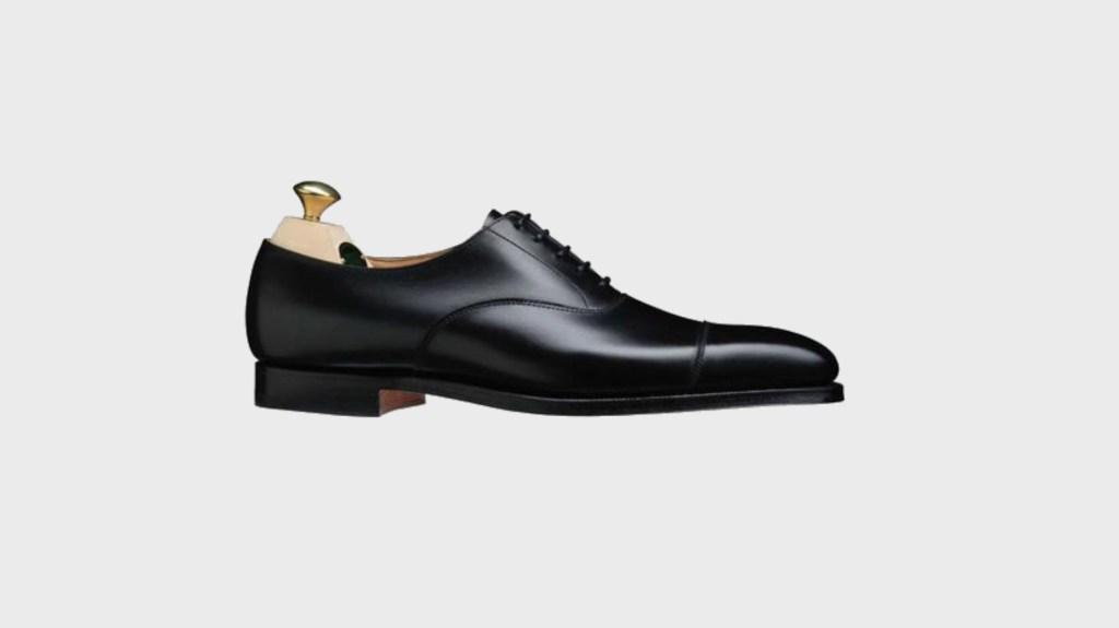 best mens dress shoes - Todd Snyder Crockett and Jones Hallam Cap Toe Oxford