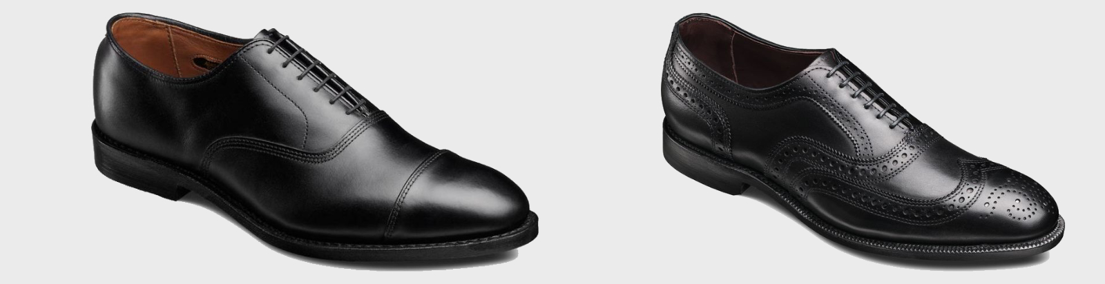 Cap Toe Oxford and Wingtip Oxford