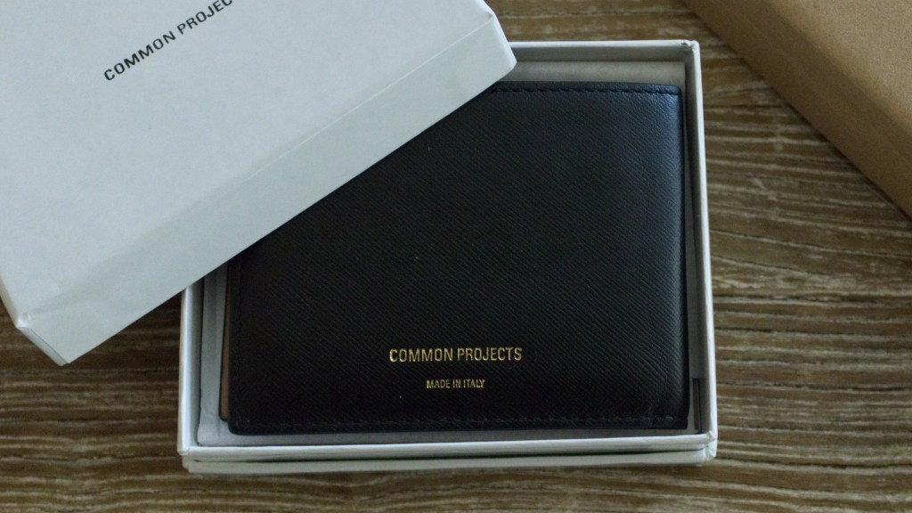 Common Projects Standard Wallet Black & Tan